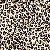 Бязь Пантерка коричневая