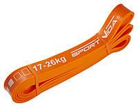 Эспандер-петля (резина для фитнеса и спорта) SportVida Power Band 28 мм 17-26 кг SV-HK0191
