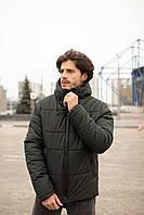 """Куртка мужская зимняя короткая Intruder """"Glacier"""" хаки в размере S 46 M 48 L 50 XL 52 XXL 54"""