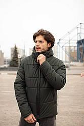 """Куртка мужская зимняя короткая Intruder  """"Glacier"""" хаки в размере S 46M 48L 50XL 52 XXL 54"""