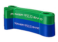 Эспандер-петля (резинка для фитнеса и спорта) 4FIZJO Power Band 2 шт 26-46 кг 4FJ0061