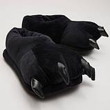 Домашние тапочки кигуруми Лапы Черные SKL32-189894, фото 2