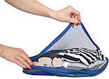 Дорожный органайзер, сумочки в чемодан 5 шт Organize синий C002 SKL34-176295, фото 3