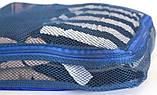 Дорожный органайзер, сумочки в чемодан 5 шт Organize синий C002 SKL34-176295, фото 5
