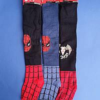 """Дитячі (S 86-92 ) колготки бавовна для хлопчиків """"Олена"""" Комп'ютерний Малюнок людина павук"""