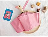 Зонт с деревянной ручкой голова утки, розовый SKL32-218575, фото 4