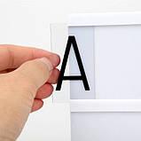 Интерьерный лайтбокс с буквами, А4 90 букв SKL32-152797, фото 4