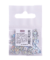 Блестки  (Глитер) ЗВЕЗДОЧКИ Серебро 1г. в кульке ZB.6801-24 ZiBi