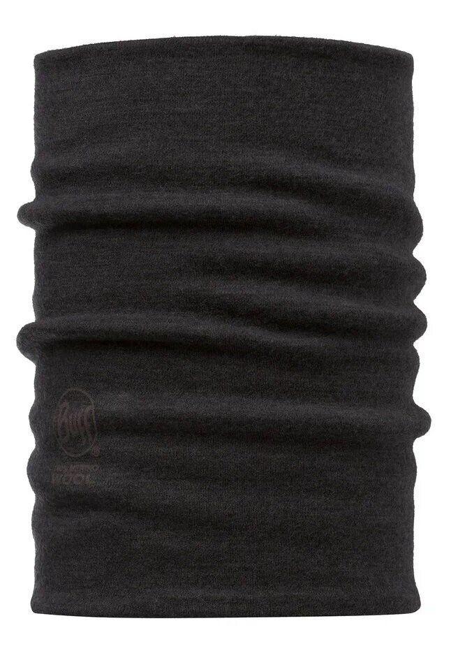 Бафф Neckwarmer Merino Wool Thermal BUFF® Black (108615.00)
