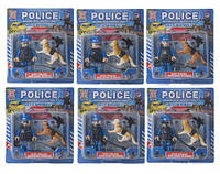 """Игрушечный набор """"Police Roadblock Inspection"""" с аксессуарами SB1011 XUJA (TC124469)"""