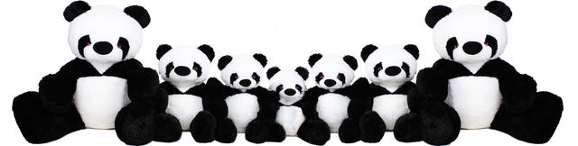 разновидность игрушек панд