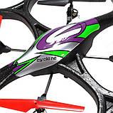 Квадрокоптер WL Toys V333 Cyclone 2 большой на радиоуправлении 24ГГц SKL17-139809, фото 5