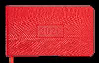 Еженедельник карманный датированный 2020 AMAZONIA, 136 стр., красный