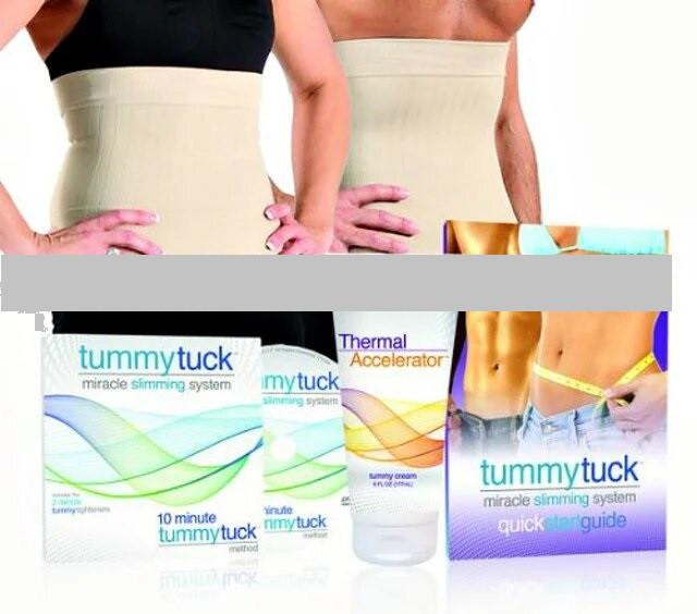 Утягивающий пояс для коррекции фигуры и похудения Tummy Tuck  (система для похудения Тами Так)