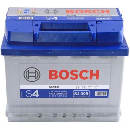Аккумулятор Bosch S4 Silver 6СТ-60 Евро