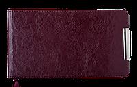 Еженедельник карманный датированный 2020 SALERNO, 128 стр., бордовый