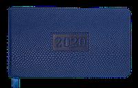 Еженедельник карманный датированный 2020 AMAZONIA, 136 стр., синий