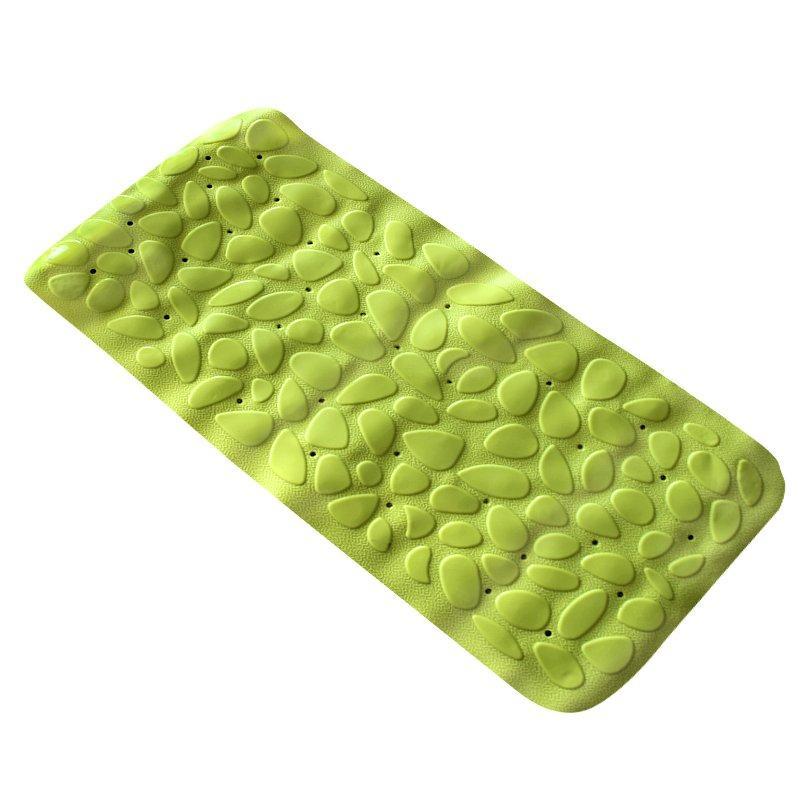 Коврик в ванную комнату Bathlux Green Leaves 40246 антискользящий резиновый 36х75 см SKL11-132561