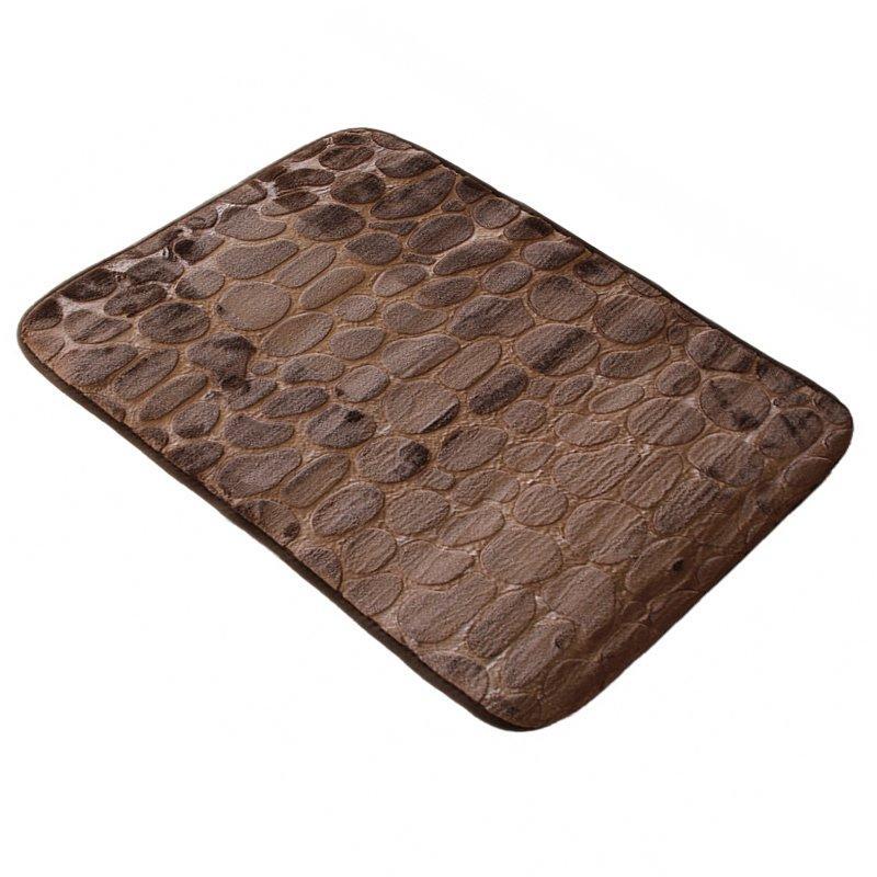 Коврик в ванную комнату Bathlux Stone 10107 антискользящий хлопковый 45х70 см SKL11-132452