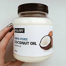 Кокосовое масло рафинированное Hillary Premium Quality Coconut Oil 500мл SKL13-131382
