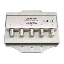 Комутатор DiSEqC 2.0 4x1 Eurosky DSW-4130 в кожусі SKL31-150760