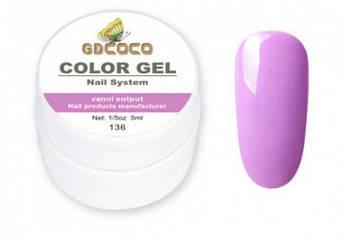 Гель-краска GD COCO №136, 5 мл