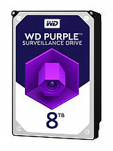 HDD SATA 8.0TB WD Purple 7200rpm 256MB (WD82PURZ)