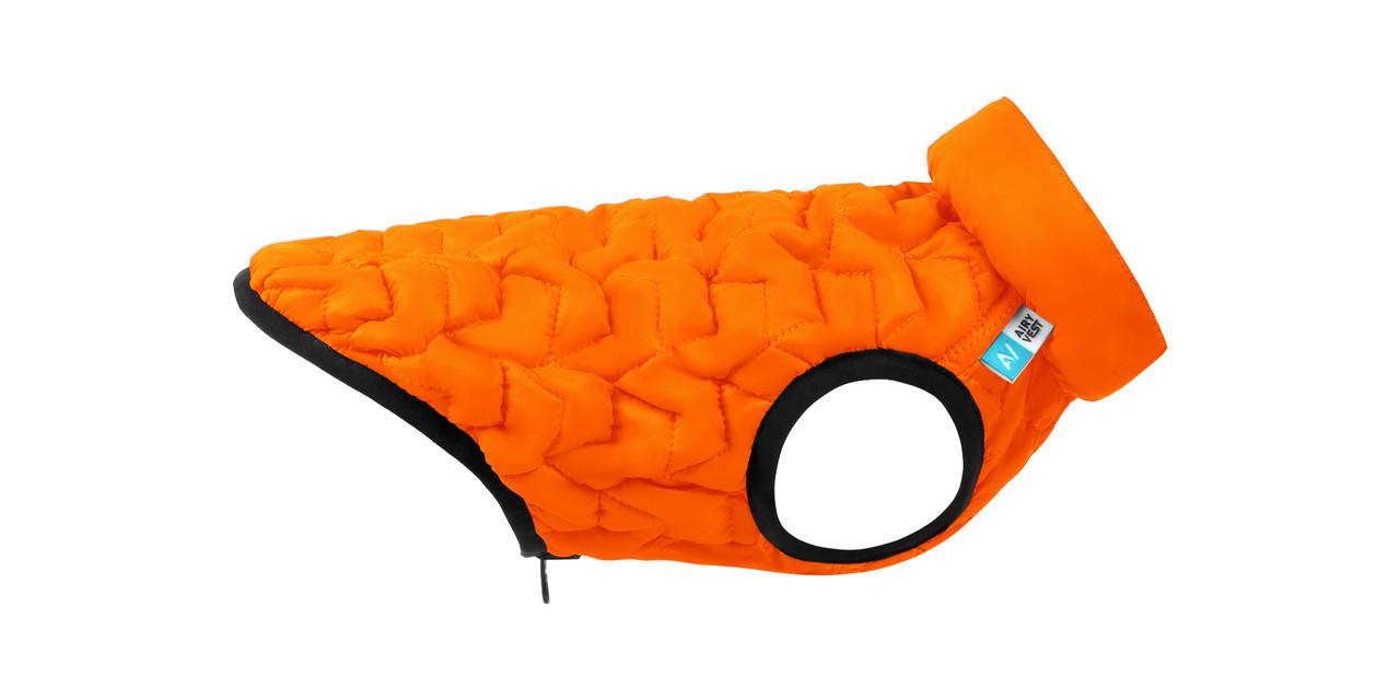 Куртка для собак AiryVest UNI Collar оранжевая S 33