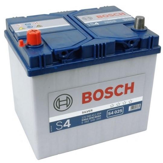 Почему стоит выбиратьBosch S4 Silver 6СТ-60 Евро