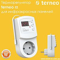 Терморегулятор terneo rz для инфракрасных панелей и конвекторов