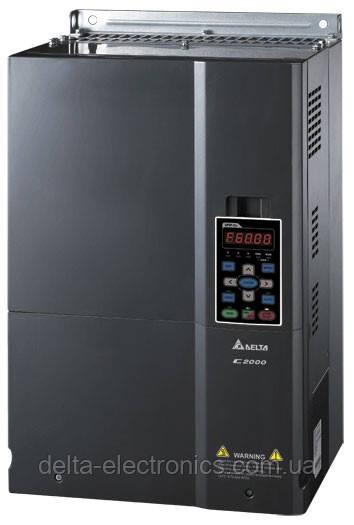 Преобразователь частоты Delta Electronics, 45 кВт, 460В,3ф.,векторный, c ПЛК и прямым упр. моментом,VFD450C43A