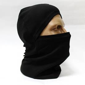 Балаклава маска х/б черная
