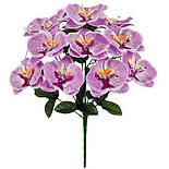 Букет великих орхідей, 52см (8 шт. в уп), фото 2