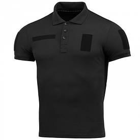 M-Tac футболка поло с велкро черная