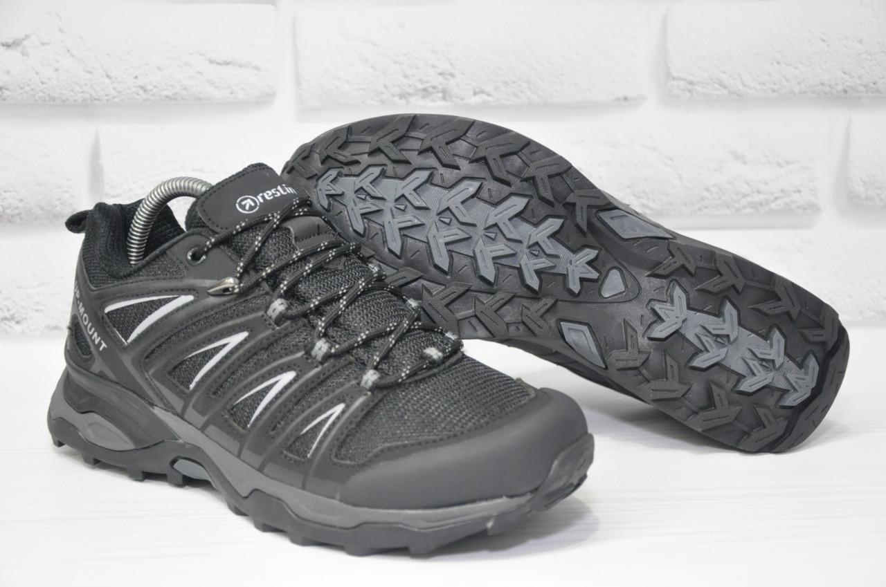 Чоловічі чорні термо кросівки Restime