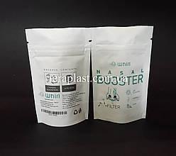Пакет Дой-Пак белый 15г 70х110 с печатью
