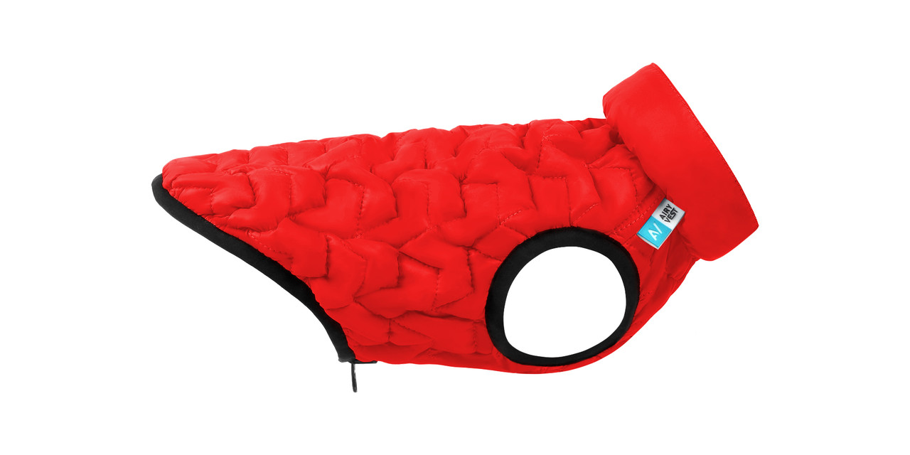 Куртка для собак AiryVest UNI Collar красная М 43