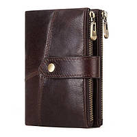 Мужское портмоне Kavis из натуральной кожи, фото 1