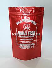 Пакет Дой-Пак красный 100г 130х200 с печатью в 1 цвет