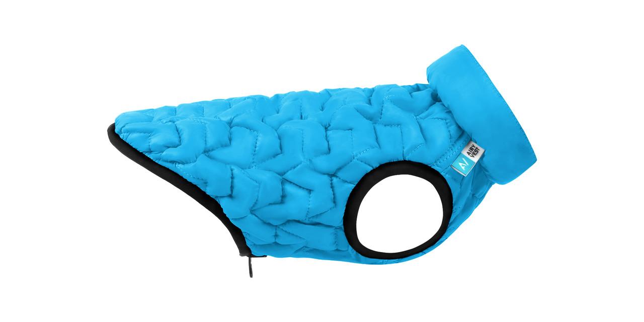 Куртка для собак AiryVest UNI Collar голубая М 48