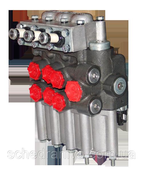 Гідророзподільник з гідрозамки МР 80-4/4-222 G (44G) п-во Гідросила
