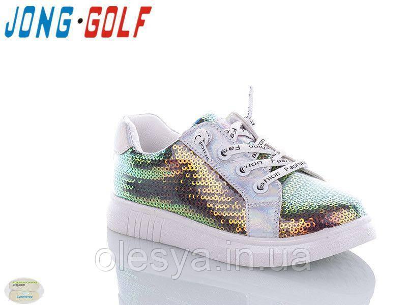 Кроссовки детские на девочку с пайетками 895-19 ТМ Jong Golf Размеры 27 - 32 Новинка 2020
