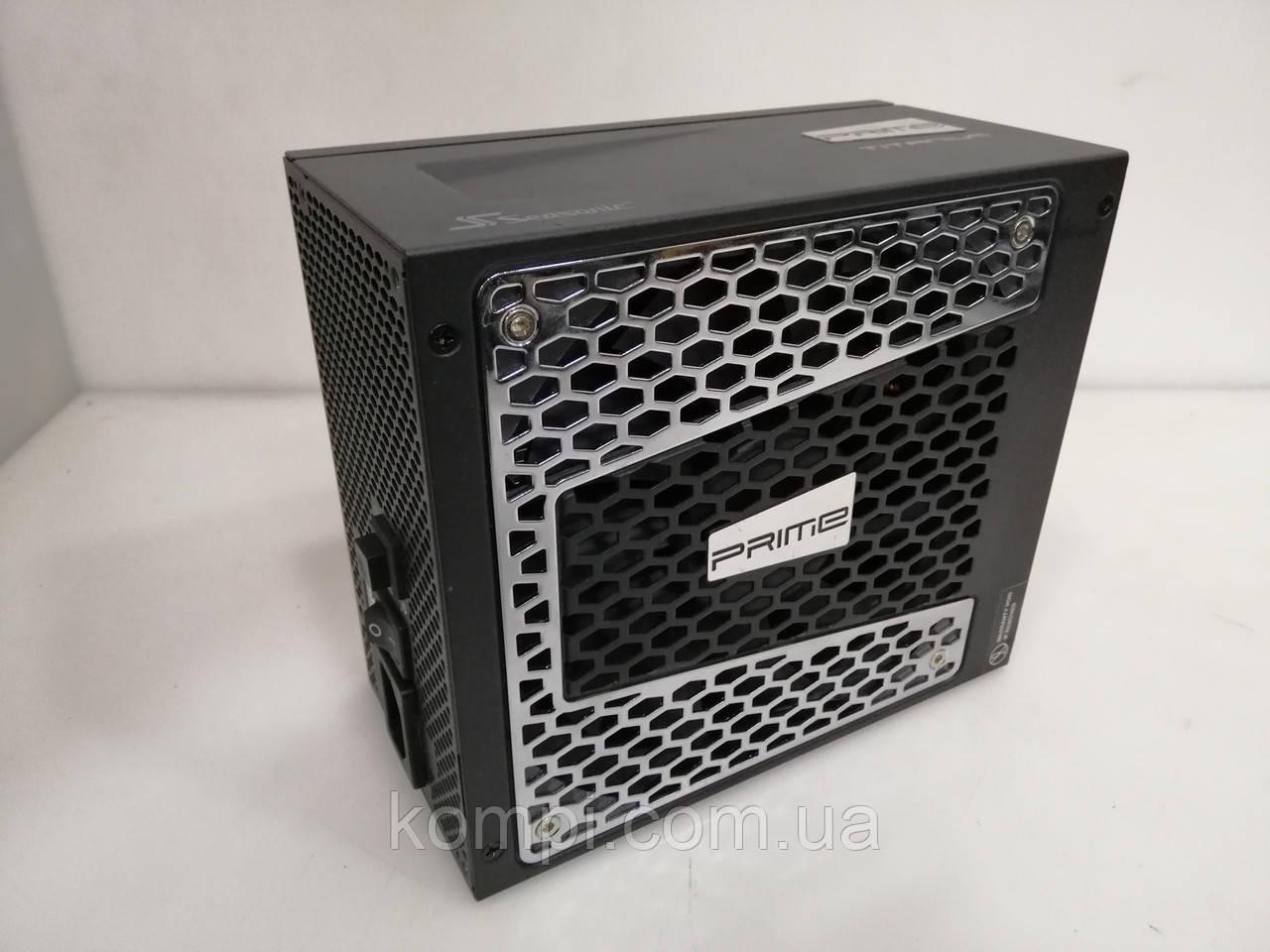 Блок питания 1000W Seasonic PRIME SSR-1000TD F3 80plus TITANIUM