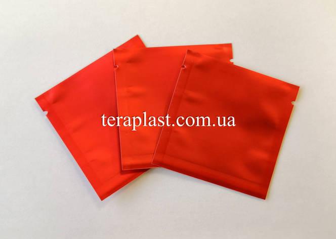 Пакет саше  красный 70х70 без зип, фото 2