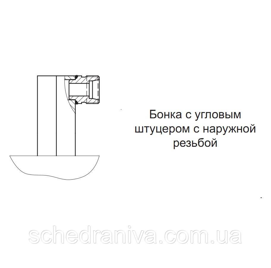 Гідроциліндр МС 80/56х900-3.11.2 (1250)
