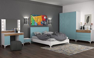 Комплект спальни Пикасса (Picassa) Мебекс