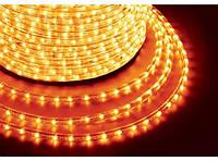 Гирлянда-дюралайт светодиодная трехжильная 10 м Желтая dur-10m-zhel, КОД: 1333153