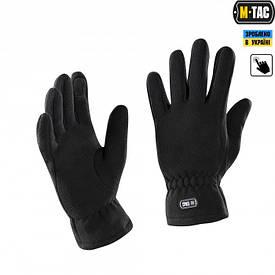 M-Tac перчатки флисовые зимние Winter черные