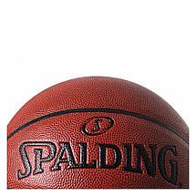Мяч баскетбольный Spalding NBA Neverflat Indoor/Outdoor Коричневый Размер 7 (029321740969), фото 3