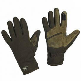 M-Tac перчатки флисовые зимние Winter Tactical Windblock олива